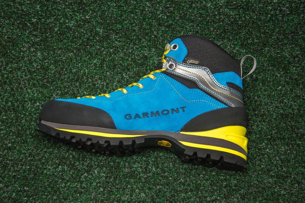 Garmont Ascent GTX - aqua blue light grey - AdamSPORT.cz fb77d4d960