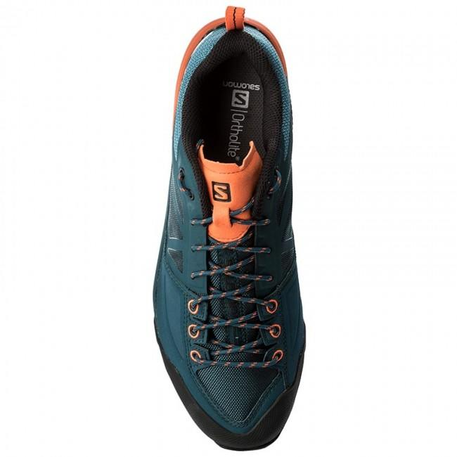 Turistická obuv Salomon X Alp Spry - Mallard Bi   Reflexní   Sc ... b205df495a
