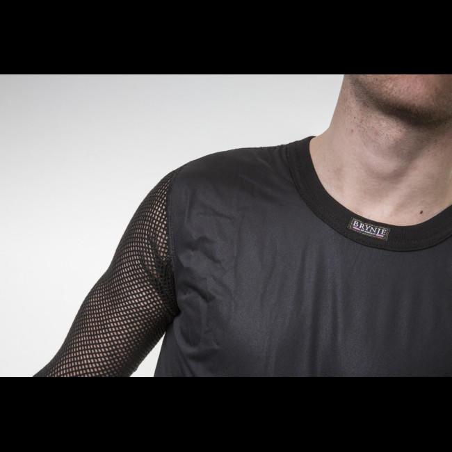 Termoprádlo Brynje Super Thermo Shirt windfront - black  3f435473db