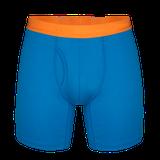 Termoprádlo Zajo Bjorn Merino Shorts - greek blue