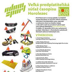 Veľká predplatiteľská súťaž časopisu Horolezec