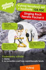 Súťaž o ferratový set Singing Rock Ferrata Packet II