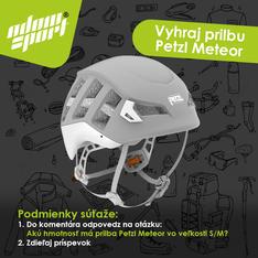 Soutěž o přilbu Petzl Meteor