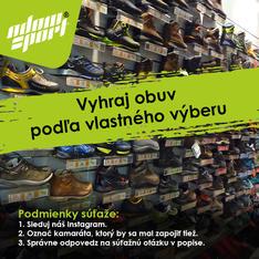 Súťaž Vyhraj obuv podľa vlastného výberu