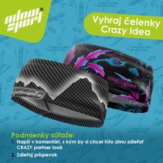 Súťaž o čelenky Crazy Idea