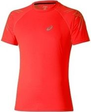 Asics Stripe SS Top - red