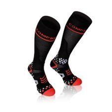 COMPRESSPORT černá ponožky ponožky plná v2.1