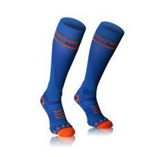 COMPRESSPORT ponožky modré punčochy plné v2.1