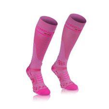 COMPRESSPORT ponožky růžové ponožky plná v2.1