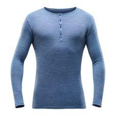 Devold Hessa Man Button Shirt - allure melange