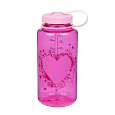 Nalgene Wide Mouth 1.0 l - Heart Bottle