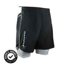 Krátké kalhoty Raidlight Cuissard Short Ultralight - black