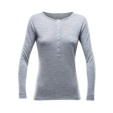 Termoprádlo Devold Hessa Woman Button Shirt - allure melange