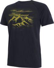 Tričko Mammut Mountain T-Shirt - marine/aloe