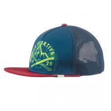 Čiapka La Sportiva Hipster Trucker Hat - chili/opal