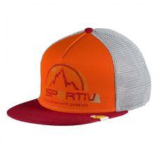 Čiapka La Sportiva LS Trucker Hat - chili/pumpkin