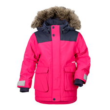 Detská bunda Didriksons D1913 Kure - ružová