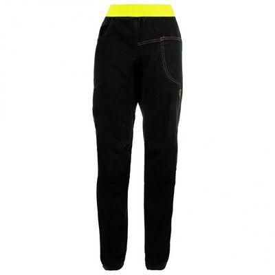 Nohavice La Sportiva Epoc Jeans W - black/apple green