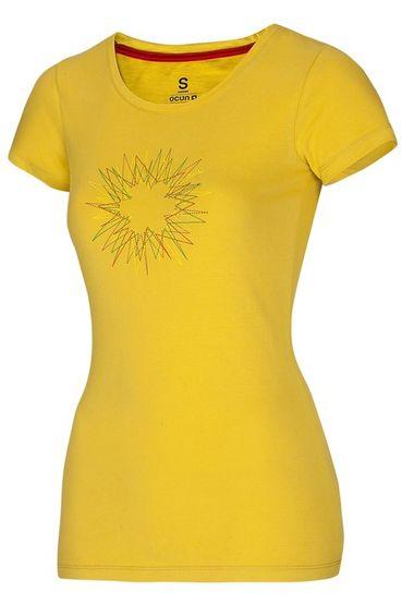 Tričko triko žluté Ocún Dash ženy olej