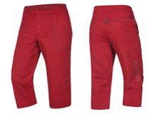 Krátké kalhoty Ocún Jaws pants 3/4 - Garnet red