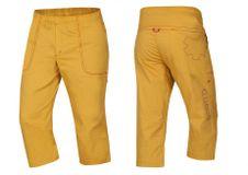 Krátké kalhoty Ocún Jaws pants 3/4 - Golden yellow