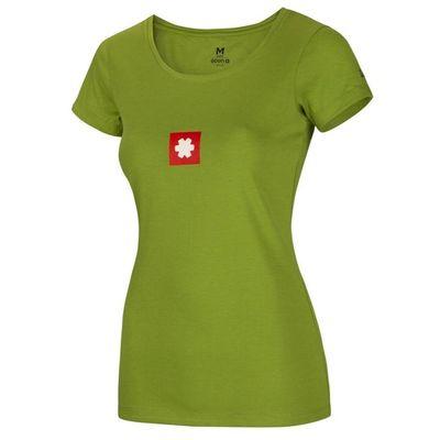 Tričko LOGO TEE-Ocún ženy rybník zelená