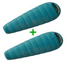 Nastavit Husky Mini spací pytle 0 ° C modrý 1 + 1