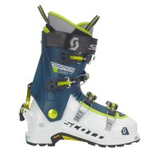 Skialpinistické lyžiarky Scott Cosmos 18/19 - white/majolica blue