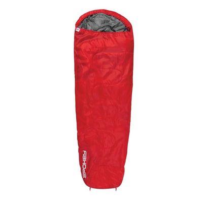 Spacák Spokey Globtrotter +10 °C  - červená