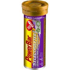 Tablety PowerBar 5 Elektrolytov - čierne ríbezle