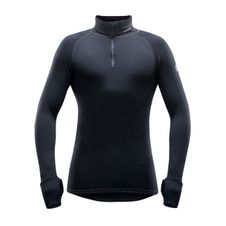 Termoprádlo Devold Expedition Man Zip Neck - black