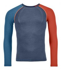 Termoprádlo Ortovox 120 Competition Light Long Sleeve - night blue