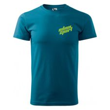 Tričko Adam Sport s potlačou - petrol