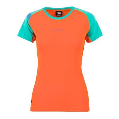 Tričko La Sportiva Move T-Shirt W - lily orange/aqua