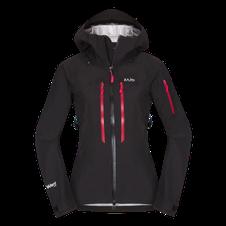 Nepremokavá bunda Zajo Annapurna W Jkt - čierna