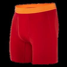 Termoprádlo Zajo Bjorn Merino Shorts - racing red