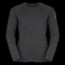 Termoprádlo Zajo Bjorn Merino Tshirt LS - black