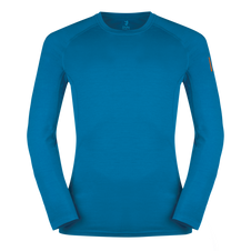Termoprádlo Zajo Bjorn Merino Tshirt LS - greek blue