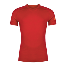Termoprádlo Zajo Bjorn Merino Tshirt SS - racing red