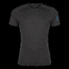 Termoprádlo Zajo Bjorn Merino Tshirt SS - black