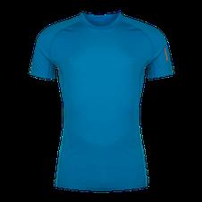 Termoprádlo Zajo Bjorn Merino Tshirt SS - greek blue