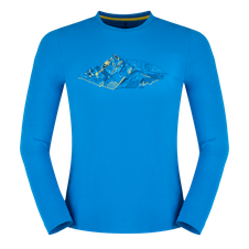Tričko Zajo Bormio T-shirt LS - greek blue peak