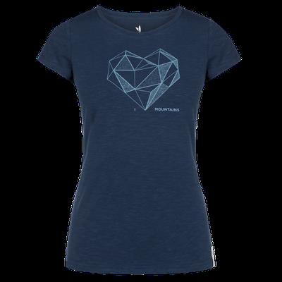 Zajo Corrine W T-shirt SS - modrá