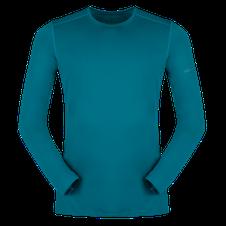 Termoprádlo Zajo Litio T-shirt LS - deep lagoon