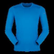Termoprádlo Zajo Litio T-shirt LS - ibiza blue