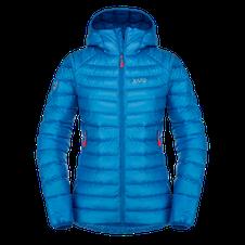 Páperová bunda Zajo Livigno W Jkt - greek blue