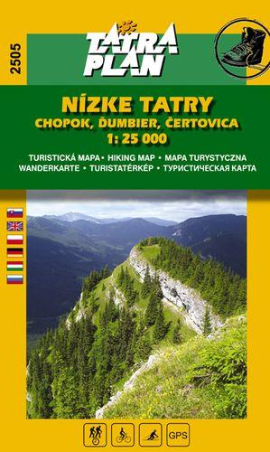 TM 2505 Nízké Tatry - Chopok 1:25 000