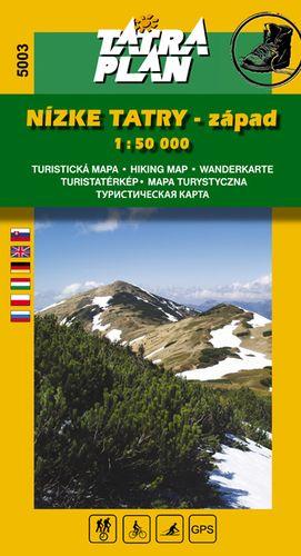 TM 5003 Nízké Tatry - západ 1:50 000