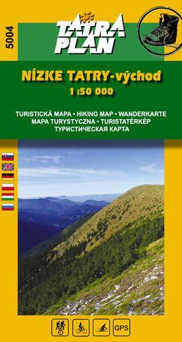 TM 5004 Nízké Tatry - východ 1:50 000